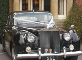 Black Rolls Royce for weddings in Henley On Thames